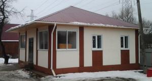 Дом правления СНТ МИР в 2014 году
